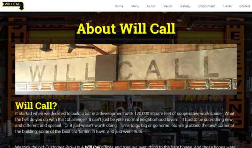 Will Call Bar & Restaurant in Denver