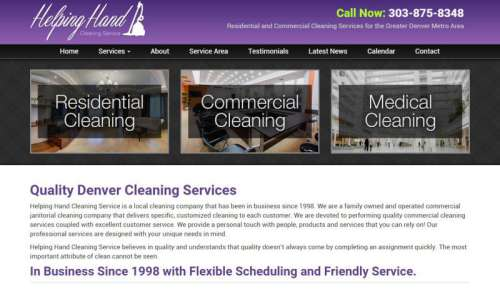 Helping Hand Cleaning Service