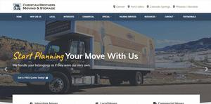 Moving Website Design