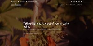 Marijuana Industry Staffing Agency Website