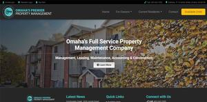 Property Management Nebraska Webdesign