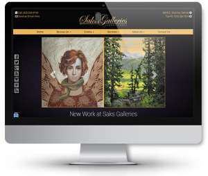 web-design-for-art-gallery
