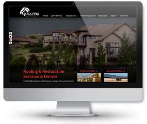 web-design-roofing-company