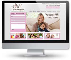 web-design-nanny-placement-agency