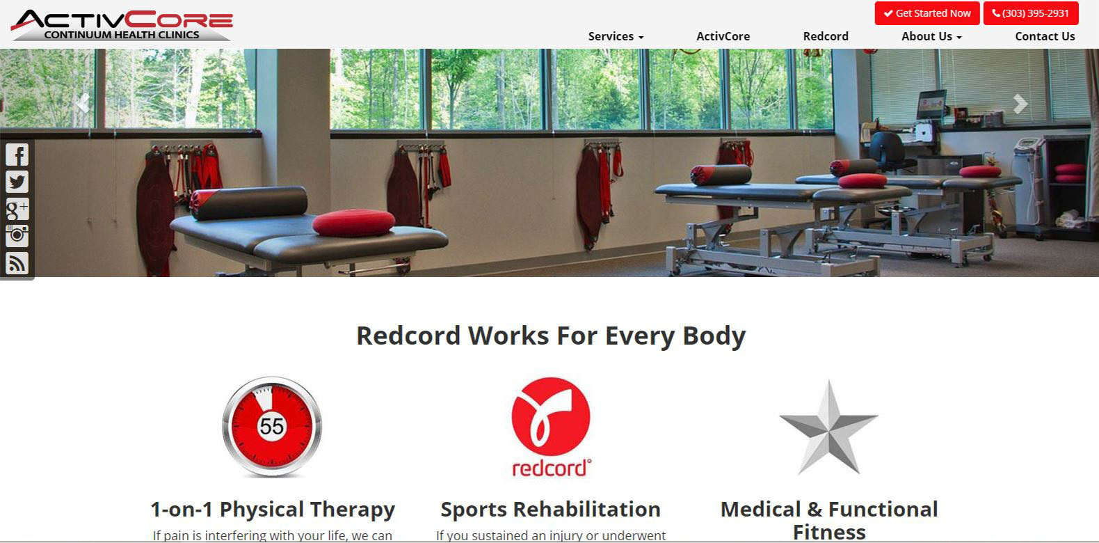 New Website Launched: ActivCore Denver