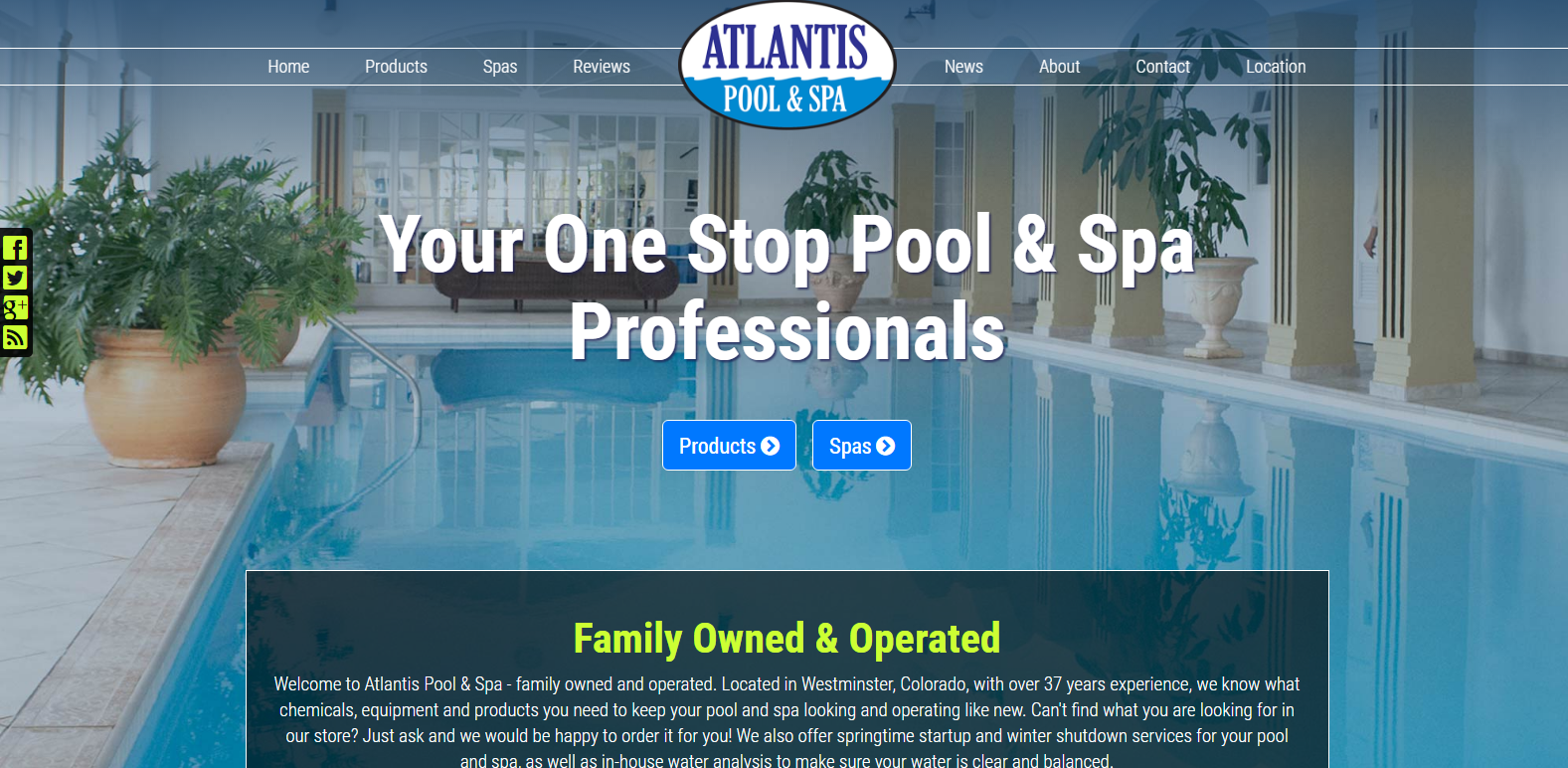New Upgrade Launched: Atlantis Pool & Spa