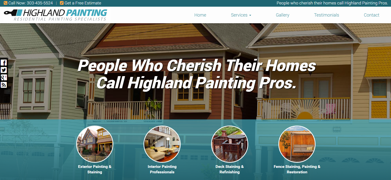 New Website Launched: Highland Painting Pros