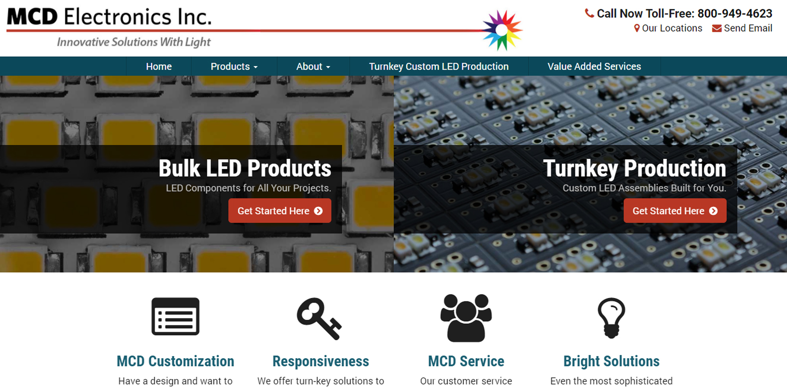 New Website Launch: MCD Electronics