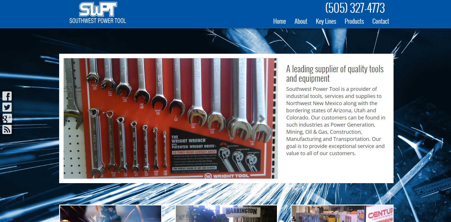 New Website Launched: Southwest Power Tool