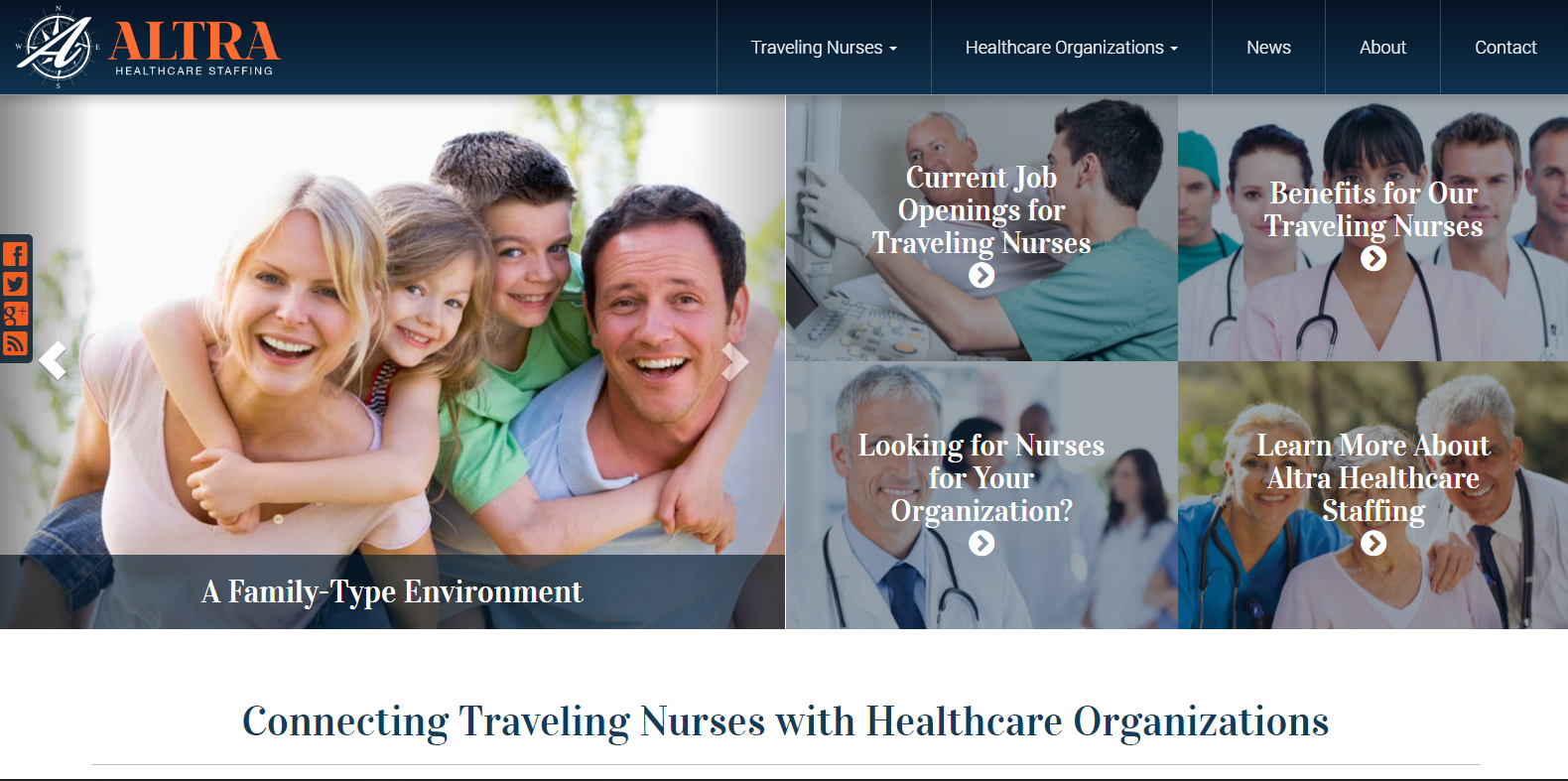 New Website Launched: Altra Healthcare Staffing