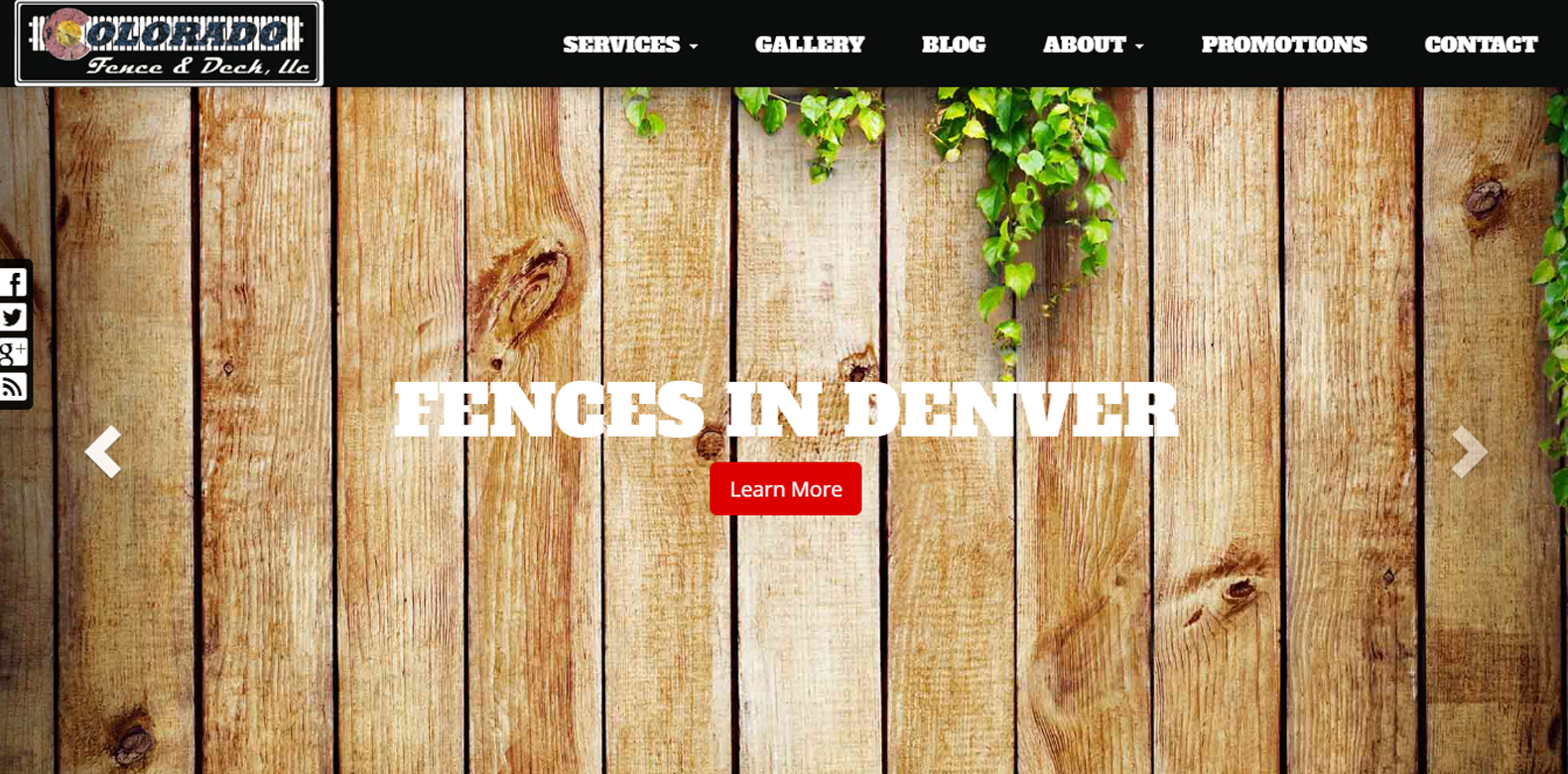 New Website Launched: Colorado Fence & Deck