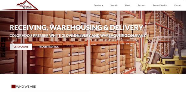 New Website Upgrade: Delivery By Design
