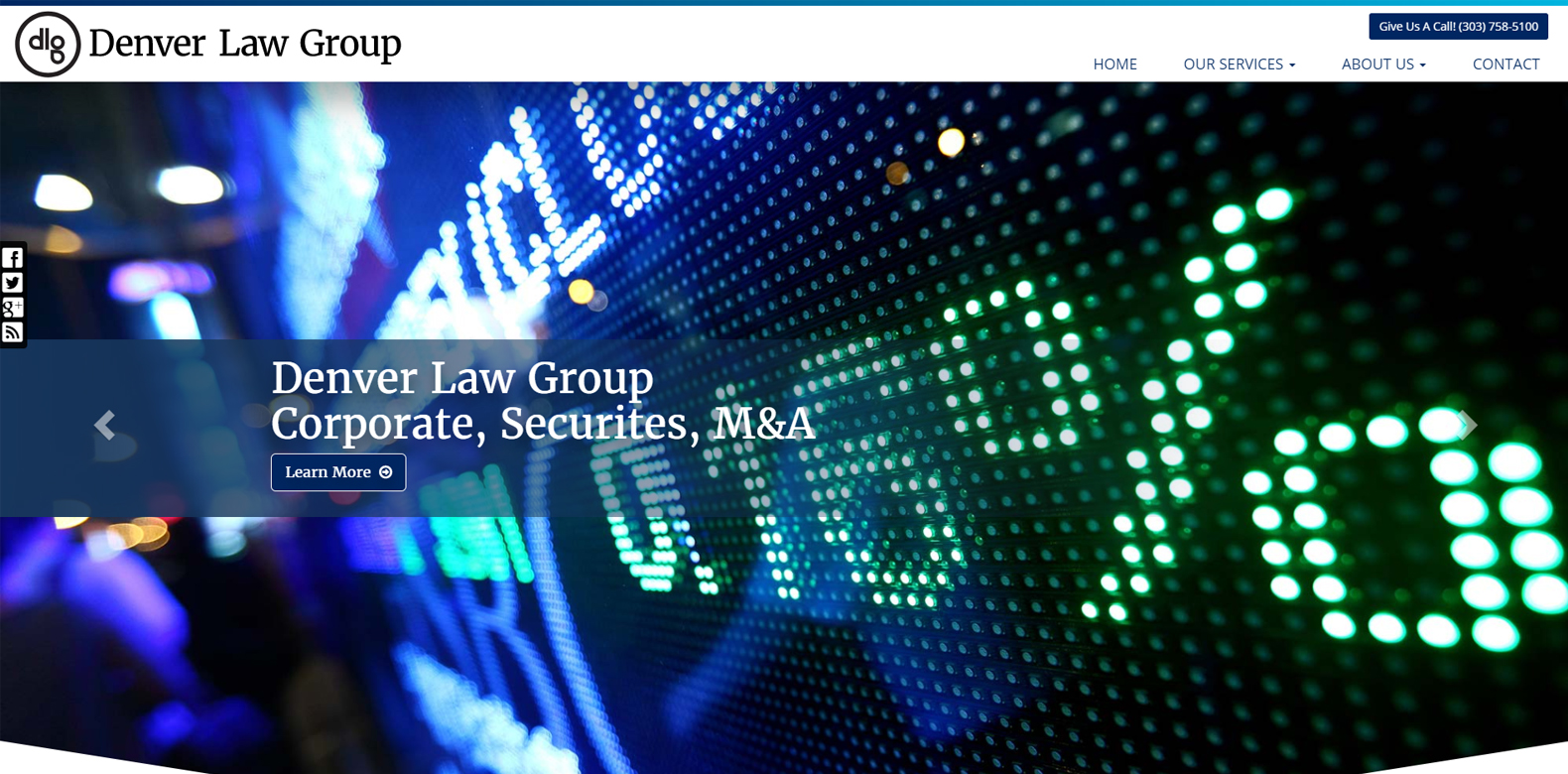 New Website Launch: DLG Law Group