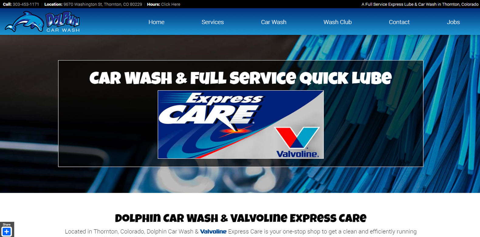New Website Launched: Dolphin Car Care