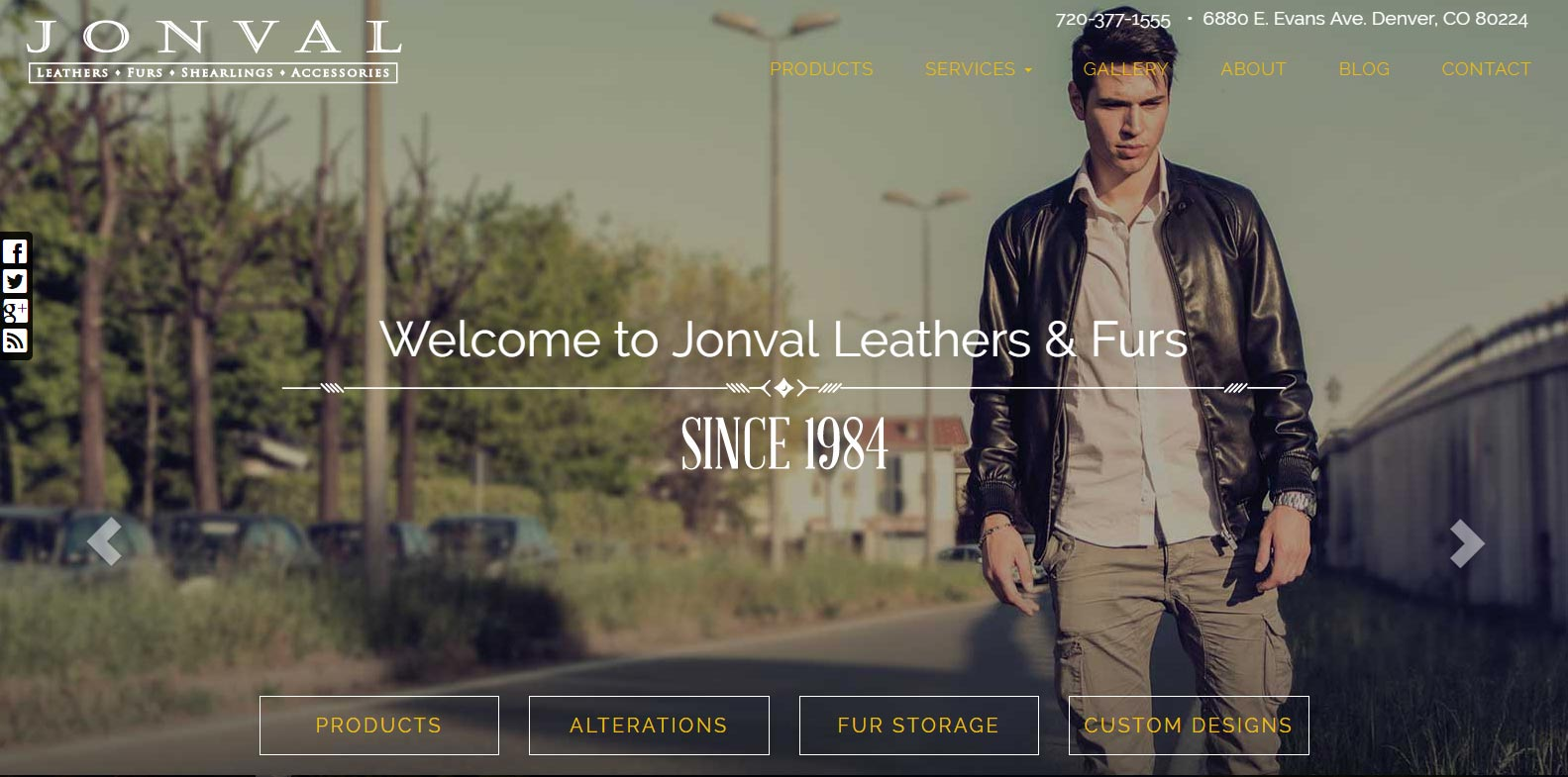 Site Upgrade Launched: Jonval Leather
