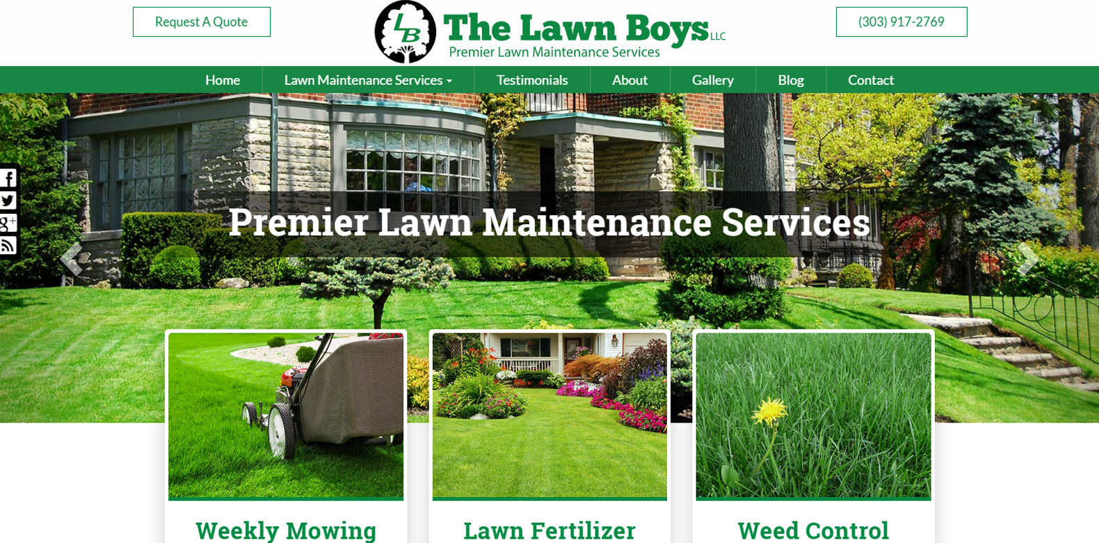 New Upgrade Launched: The Lawn Boys