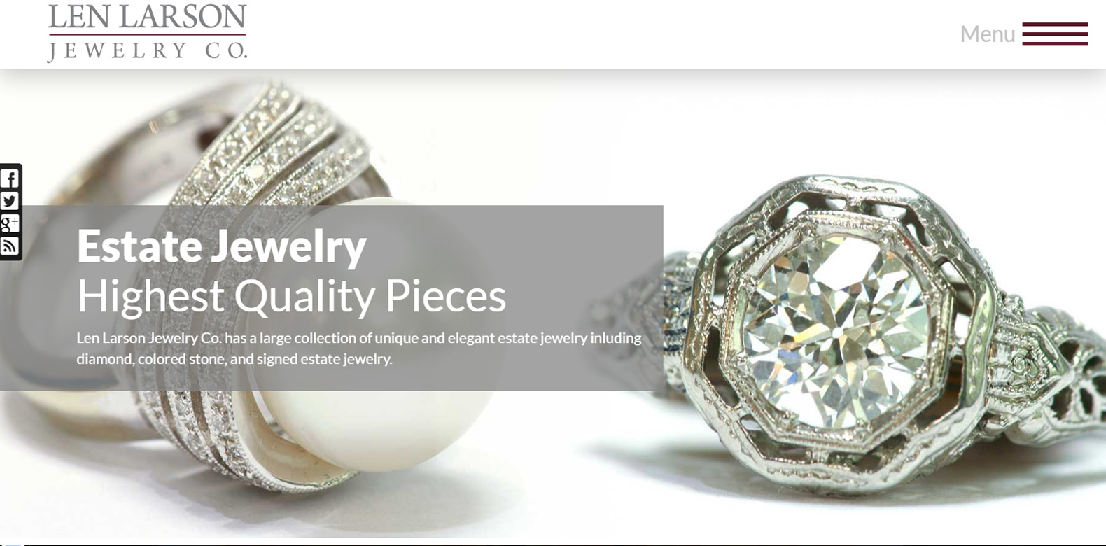 New Upgrade Launched: Len Larson Jewelry