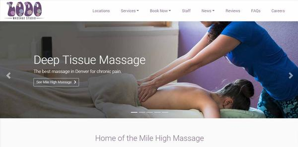 New Website Upgrade: Lodo Massage Studio