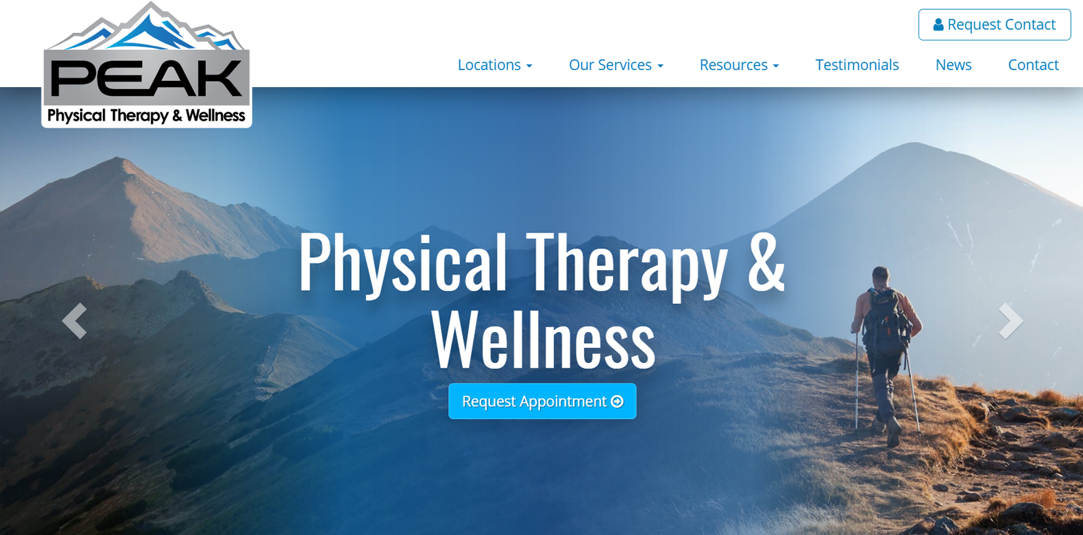New Website Launch: Peak Physical Therapy & Wellness