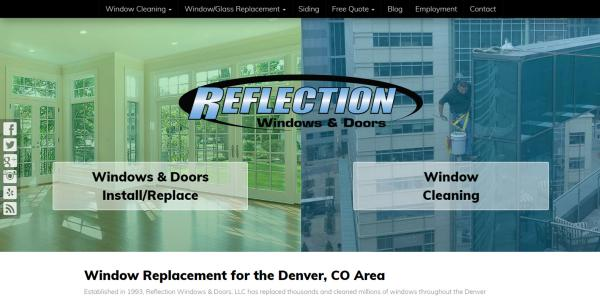 New Website Launch: Reflection Windows & Doors