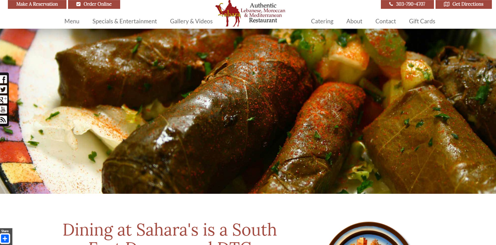 New Upgrade Launched: Sahara Restaurant