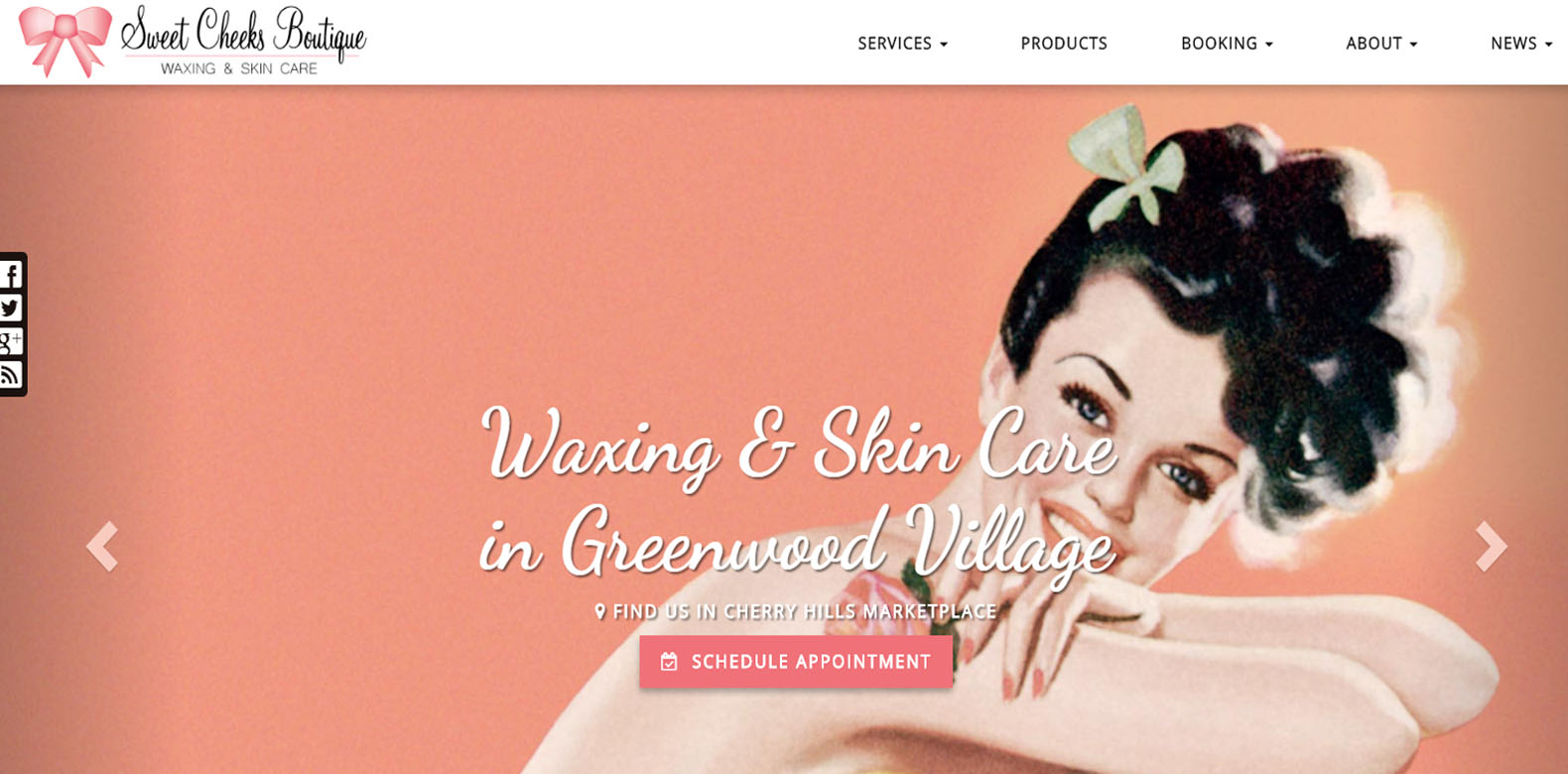 New Website Upgrade: Sweet Cheeks Boutique